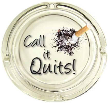 call it quits logo only